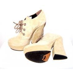 R&Renzi by Gianmarco Lorenzi Plateau Ankle Boots Gr. Gianmarco Lorenzi, Ankle Boots, Shoes 2014, Pumps, Roger Vivier, Sergio Rossi, Charlotte Olympia, Ankle Straps, Manolo Blahnik