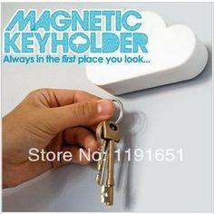 360SHOP Brand goods  Key Chain Ring Keyring    cloud style key holder Fashion  home gifts  Free shipping 1pcs/lot  $6.98