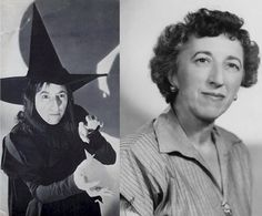 The Wicked Witch of the West played by Margaret Hamilton.