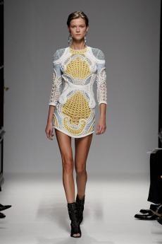 Fashion 2013 - Collection BALMAIN Femme Printemps-Été 2013