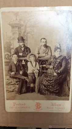 ANTIGUA FOTOGRAFIA CAVILLA Y BRUZON GIBRALTAR - Foto 1