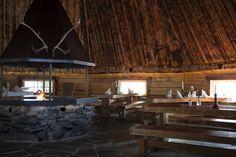 Enjoy a meal in a cozy atmosphere in Lapland Restaurant Kotahovi in Rovaniemi in Finland
