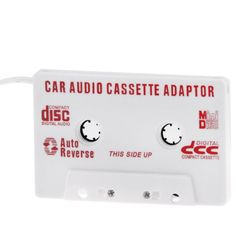 [USD0.80] [EUR0.75] [GBP0.58] Car Audio Cassette Adapter for iPod / MP3 / CD Player
