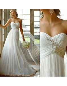 antické svatební šaty bílé Roberta S-M - Hollywood Style E-Shop