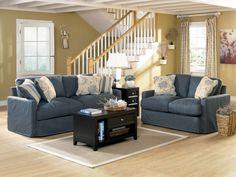 Addison-Slate Sofa Collection