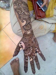 Holi Latest Mehndi Designs Collection 2013