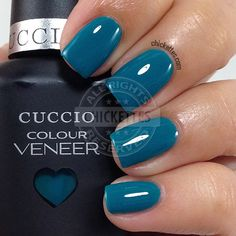 Cuccio Colour Veneer - Muscle Beach - swatch by Chickettes.com