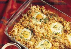 Southwestern Egg Bake Add #MartinezSalsa for extra texture and flavor