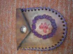 Resultado de imagen para costuras sobre artesanias en cueros