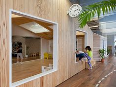 Kiddy shonan C/X nursery school | suppose design office -- climb into your houses