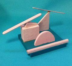 Doreen F. Grade 6 - Wood Sculpture (Precarious Balance)