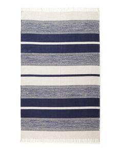 """Exquisite Rugs """"Blasio Stripes"""" Flatweave Rug - Horchow"""