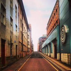 One of our favourite Sheffield streets (photo by @ philipmcginley on IG) #socialsheffield #sheffield