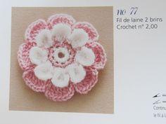 Angela Lace: Crochet Flower