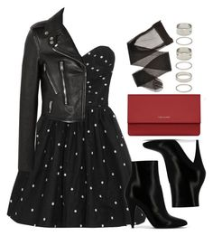 """Style #9432"" by vany-alvarado ❤ liked on Polyvore featuring Yves Saint Laurent and Forever 21"