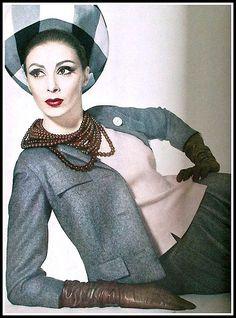 Wilhelmina, Vogue April 1962.