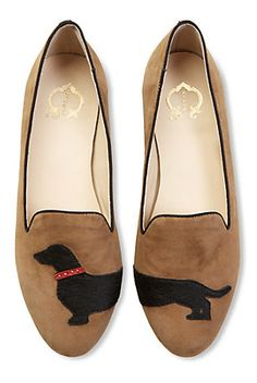 Dachshund Slipper Loafers.