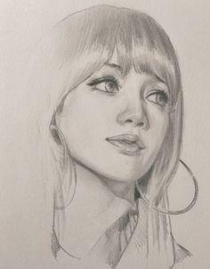 Secrets Of Drawing Most Realistic Pencil Portraits - - Dika Toolkit ( Realistic Pencil Drawings, Art Drawings Sketches Simple, Pencil Art Drawings, Drawing Ideas, Portrait Sketches, Pencil Portrait, Portrait Art, Portraits, Kpop Drawings