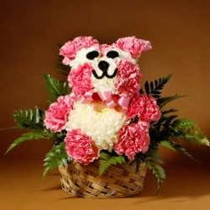 Flower Puppies - Flower Bunnies - Flower Teddys - Flower Ice Cream Sodas