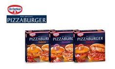 Der Pizzaburger  verbindet den Geschmack einer Pizza mit dem einfachen Handling eines Burgers.  Es sind jeweils zwei Pizzaburger in einer Packung. Und jeweils eine untere und eine obere Seite einzeln eingeschweißt, so dass ein Pizzaburger einzeln entnehmbar ist.  Die zwei Burgerbrötchen werden aufgeklappt bei Ober- und Unterhitze 220°/ Heißluft 200 ° 11- 13 Minuten aufgebacken und danach zusammengeklappt. Genießen Sie die erste Pizza in Burgerform.