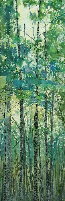 Walking In The Woods by Sandrine Pelissier