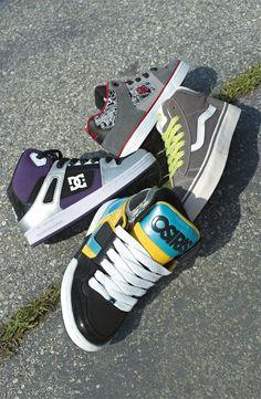 DC Shoes 'Rebound', 'Radar', Vans 'Mid Skool 77', & Osiris 'Boys NYC 83' #Nordstrom