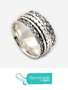 Fidget Silver Ring