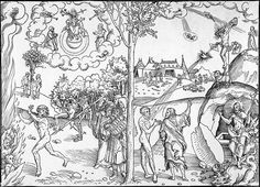 Cranach law and grace woodcut - Law and Gospel - Wikipedia, the free encyclopedia