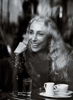 INTERVIEW MAGAZINE: FRANCA SOZZANI BY PHOTOGRAPHER PETER LINDBERGH