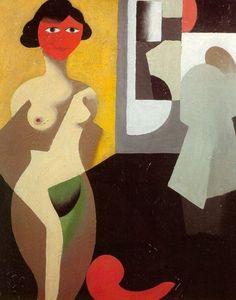 The model, 1922 (cubism) by René Magritte (Belgien painter) Rene Magritte Kunst, Rene Magritte Artwork, Artist Magritte, Georges Braque, Harlem Renaissance, Cubism Art, Art Prints For Sale, Conceptual Art, Surrealism