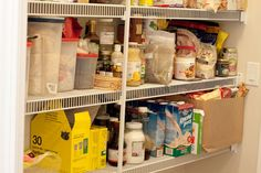 What to stock in a healthy, clean eating pantry (minus the soy milk). Gluten-free.