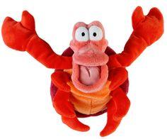 The Little Mermaid Sebastian plush toy