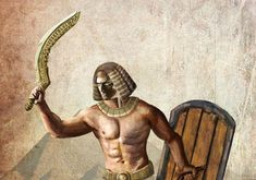 Khopesh—The Egyptian Sword that Forged an Empire Kemet Egypt, Ancient Egypt, Egyptian, Empire, Statue, History, Swords, Homeschooling, Tattoo Ideas