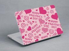 Valentine laptop skin