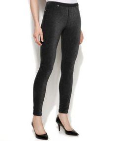 MICHAEL KORS MICHAEL Michael Kors Corduroy Leggings. #michaelkors #cloth # leggings