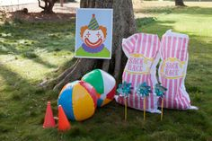 Circus Carnival Birthday Party Games & Activities. Shop now @ RevelBee.com