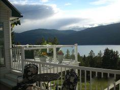 Wunderschöner Ausblick auf See und Grünfläche - Ferienhaus für bis zu 12 Personen in Rexford, Montana, USA. Objekt-Nr. 986376