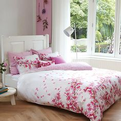 Buy bluebellgray Cherry Blossom Bedding Online at johnlewis.com This is so girlie!