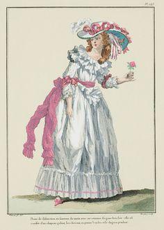 1787    A Most Beguiling Accomplishment: Galerie des Modes, 52e Cahier, 2e Figure