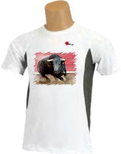 Camiseta - Toro girando en plaza