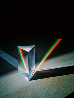 / by Sakir Yildirim: Prism Rainbow Light, Rainbow Prism, Rainbow Aesthetic, Glitch Art, Rocks And Gems, Color Theory, Light Art, Light And Shadow, Pink Floyd