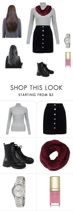 """""""Wahnaz"""" by aydannagiyeva ❤ liked on Polyvore featuring Miss Selfridge, BCBGMAXAZRIA, Calvin Klein, Dolce&Gabbana and Shades of Grey by Micah Cohen"""