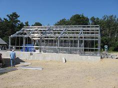 Greenhouse Construction #greenhouses #marijuana #cannibas