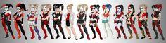 Harley Quinns.