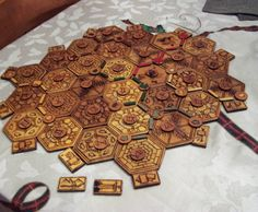I recently decided to make my own Settlers board with the following goals: - More durable than cardstock - Prettier than anything I could buy - Easy t...