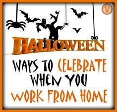 Who needs a big office bash? Telecommuters can celebrate holidays too! Check out these tips for setting the #Halloween mood when you work from home.