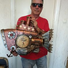 Steampunk Clock, Fish, Style, Steampunk Watch, Swag, Pisces, Outfits