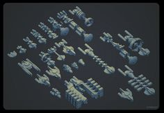 pascal blanché personal project Stardust shapes research Concept Ships, Game Concept, Concept Cars, Starship Concept, Sci Fi Spaceships, Space Engineers, Capital Ship, Space Games, Spaceship Design