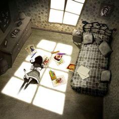 Carmesina's Room by ~Disezno on deviantART