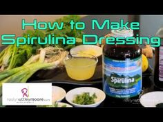 How to Make  Spirulina Dressing by Roslyn Uttleymoore - Nutritionist